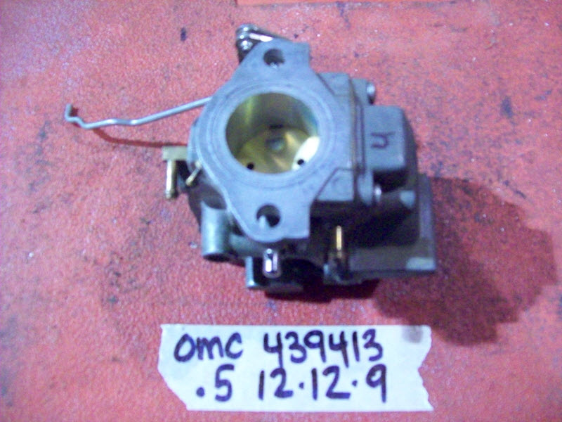 Johnson Evinrude OMC Upper Carburetor 439413