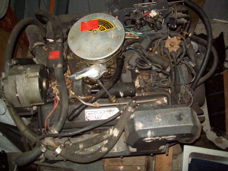 OMC cobra & King cobra 5.7 350 V8 Chevy GM Motor Engine